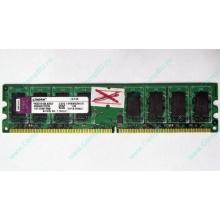 ГЛЮЧНАЯ/НЕРАБОЧАЯ память 2Gb DDR2 Kingston KVR800D2N6/2G pc2-6400 1.8V  (Авиамоторная)