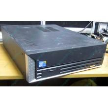 Лежачий четырехядерный компьютер Intel Core 2 Quad Q8400 (4x2.66GHz) /2Gb DDR3 /250Gb /ATX 250W Slim Desktop (Авиамоторная)
