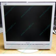 """Б/У монитор 17"""" Philips 170B с колонками и USB-хабом в Авиамоторной, белый (Авиамоторная)"""