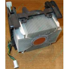Кулер для процессоров socket 478 с медным сердечником внутри алюминиевого радиатора Б/У (Авиамоторная)
