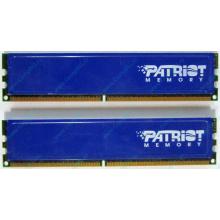 Память 1Gb (2x512Mb) DDR2 Patriot PSD251253381H pc4200 533MHz (Авиамоторная)