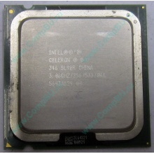 Процессор Intel Celeron D 346 (3.06GHz /256kb /533MHz) SL9BR s.775 (Авиамоторная)